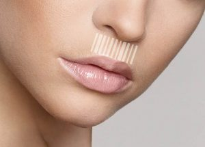 Омоложение области губ.