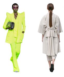 Модные тренды весна/лето – 2021: из пижамы – в брючный костюм